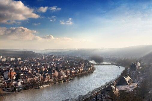La meuse et la sambre Namur